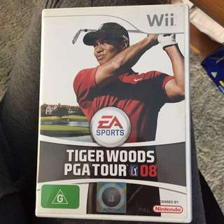 Wii Game Tigerwoods PGA TOUR 08