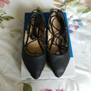 Size 7/38 Lace Up Flats