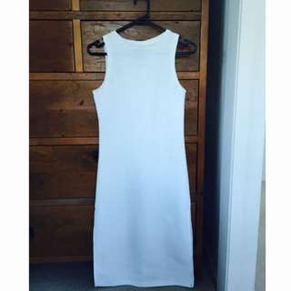 All About Eve Off White Singlet Dress With Splits