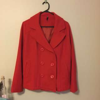 Dangerfield Red Coat