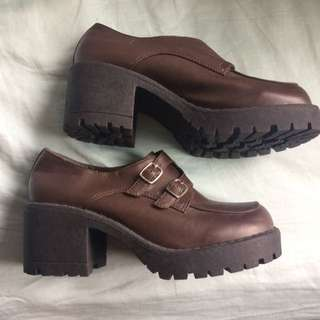 Retro Brown Shoes