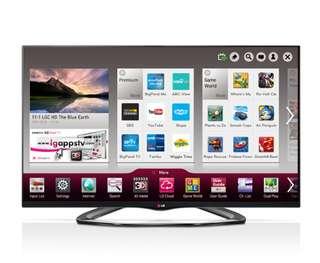 "LG 47"" Smart Full HD LED LCD 3D TV"