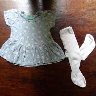 Dress Bayi & Legging