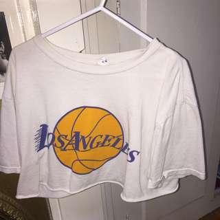 LA Lakers Crop