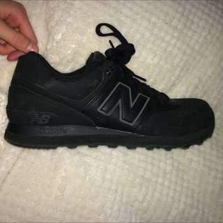 New Balance 574 All Mate Black Size Us 10 !!!