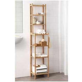 Ikea RÅGRUND Shelving unit, bamboo