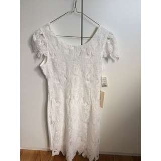 Never Worn Lace White Dress