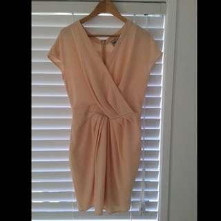 Size 12 Peach ASOS dress