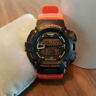 (Reserved) CASIO G-SHOCK/MUDMAN Rescue Orange (G 9000R-4)