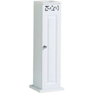 Lure Toilet Roll Cupboard in WHITE