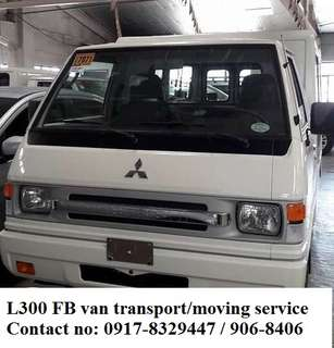 L300 FB van for rent. delivery cargo. lipatbahay. condo transfer