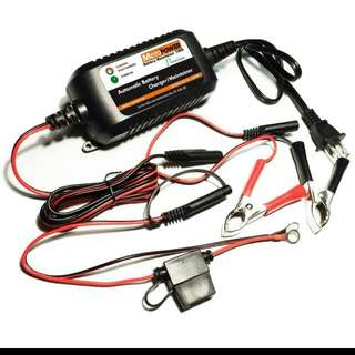 12V 1.5Amp Car / Motorcycle Battery Charger & Maintainer (Automatic)