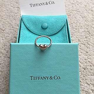 Tiffany Size 5 Heart Ring