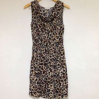 Promod Animal Print Dress