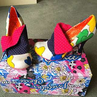 Irregular Choice - Flick Flak, size EU 38/AU 7.5