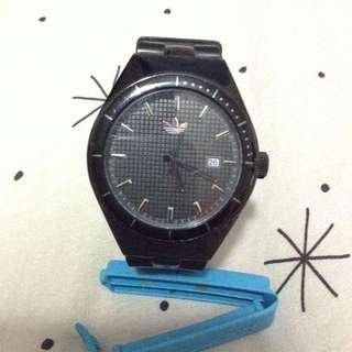Adidas Trefoil Black Watch