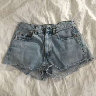 Vintage Levi Denim Shorts (ON HOLD)