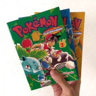 Pokemon Adventures comics
