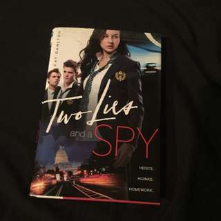 Book - Two Lies And A Spy