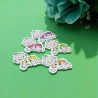 Baby Cute Brooch Hairclip Bookmarks Magnet