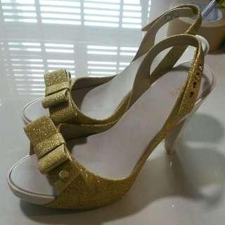 Melissa Gold Heels