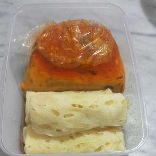 Roti Jala Kari