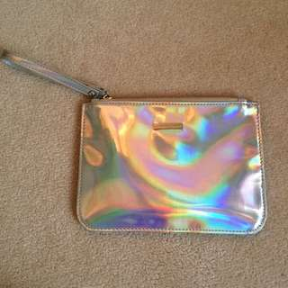 Holographic Wallet Pouch By Colette