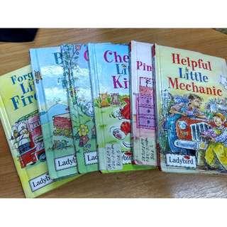 Children's Books (Little Stories: Ladybird)