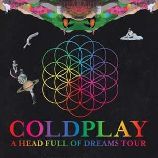 5 COLDPLAY TICKETS