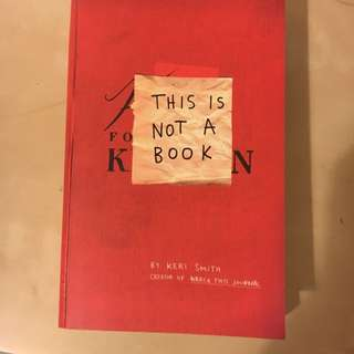 Perfect Condition: This Is Not A Book By Keri Smith