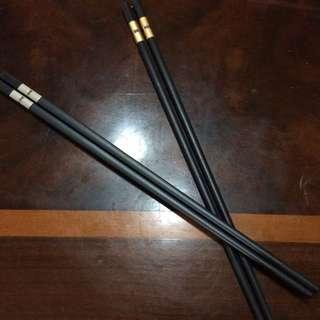 高級餐廳飯店專用筷子 金銀兩色 (全新現貨)