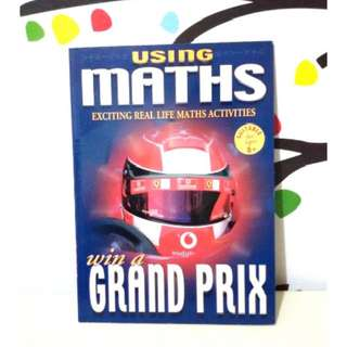 Buku import anak Using Maths to win Grand Prix