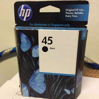 HP Ink Cartridge 45 Black For Clearance