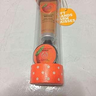 The Body Shop Mango Hand Cream+ Lip Butter Gift Pack