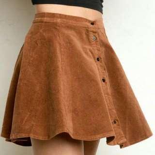 Brandy Melville a line skirt