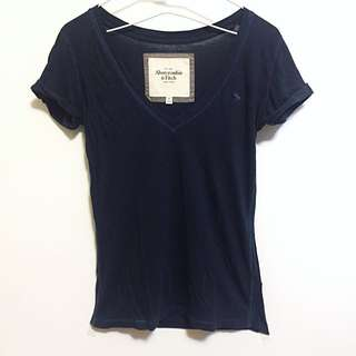 Abercrombie&Fitch V領T恤