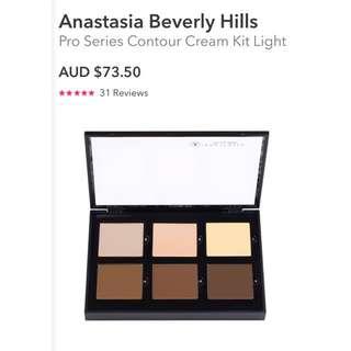 Brand New Authentic Anastasia Beverly Hills Crean Contour Kit Make Up