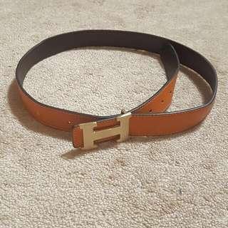 Hermes Orange Belt