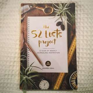 The 52 Lists Project - A Year Of Weekly Journaling Inspiration