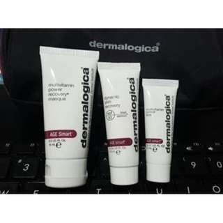 Dermalogica Travel Size skincare Products with pouch Brand New