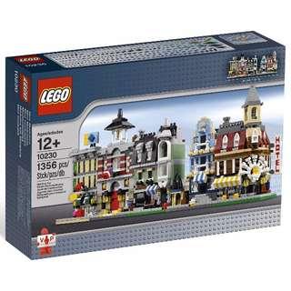 LEGO 10230 Mini Modulars - Exclusive Modular Buildings set - Mini 10182, 10190, 10185, 10197 & 10211