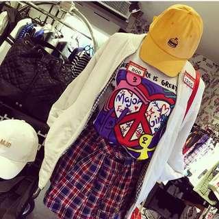 🎵Major Made(MJR)百搭格子褲裙💄