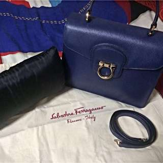 ❤️ SALVATORE FERRAGAMO TOP HANDLE BAG
