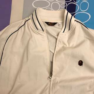 Ape Jacket 米色 Bape Size XL