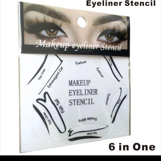6 In 1 Eyeliner Stencil