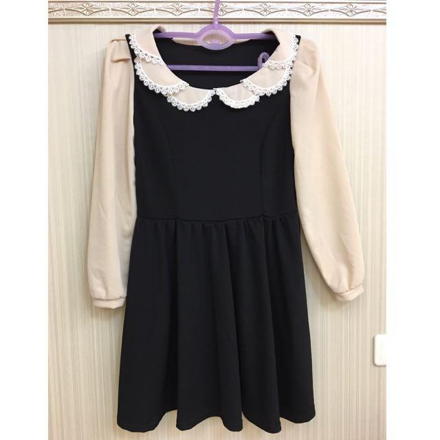黑色洋裝👗