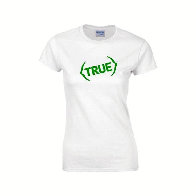 [ True Lemon ] Limited Edition True Printed Minimalist WHITE Shirt Design A