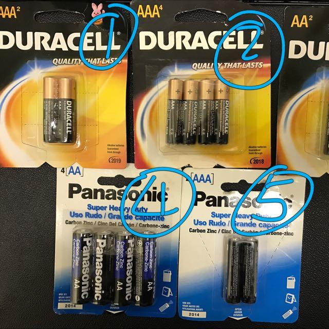 AAA/AA Batteries