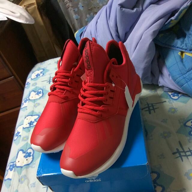 Adidas Tubular Runner Power Red 配色US7號