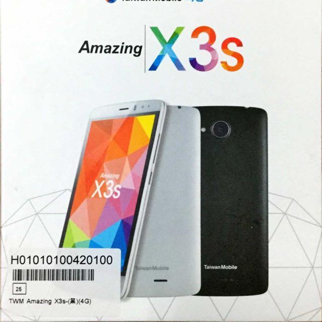 台灣大Amazing X3s